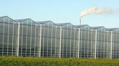 Greenhouse gas Stock Footage