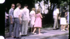The White House Tour Circa 1965 (Vintage Film 8mm Home Movie Footage) 1469 Stock Footage