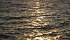 Gloomy Ocean Stock Footage