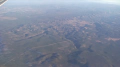 SouthWest Aerial-2-46 -Dry Winter mountain area 5 Stock Footage