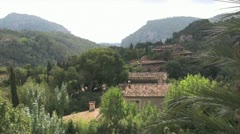 Spanish houses in the mountains Stock Footage