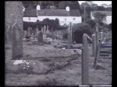 Graveyard - stock footage