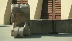 Dragon statue Stock Footage