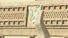 Myan temple ruins Stock Footage