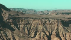 Namibia - Fish River Canyon Stock Footage