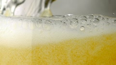 Beer, Slow Motion - stock footage