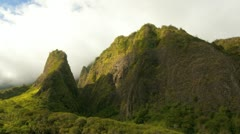 Iao Valley - stock footage