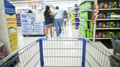 Shopping Cart - stock footage