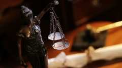 Lady Justice - stock footage