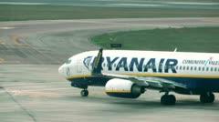 RyanAir Stock Footage