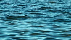 Tranquil water waves Stock Footage