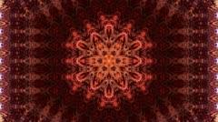 Aztec morph rug Stock Footage