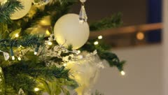 Christmas tree onaments 2 Stock Footage