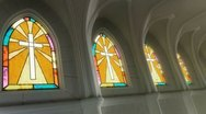 Stock Video Footage of Stained Glass Windows