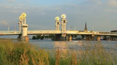 View on Kampen Stock Footage