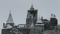 Vampire Castle from Transilvania Stock Footage