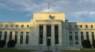 Stock Video Footage of Federal Reserve Building - frontal -  in Washington, DC