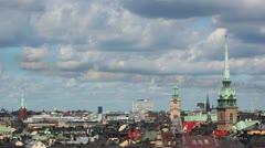Stockholm - stock footage