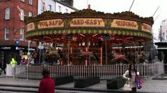 Merry-Go-Round / Carrousel 3 Stock Footage