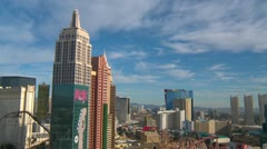 Time-lapse, Las Vegas skyline Stock Footage