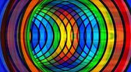 Rainbow background, loop Stock Footage
