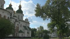 Saint Sophia Cathedral Kiev, Ukraine Stock Footage