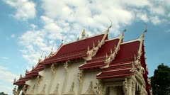Thai Temple Stock Footage