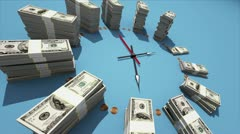 Time is money Stock Footage
