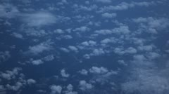 Breathtaking Airplane View, Fields, Beautiful Mountains, Incredible Clouds - stock footage