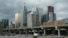 Toronto financial district. Stock Footage