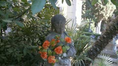 Aavemainen patsas lapsi (Glidecam) Arkistovideo