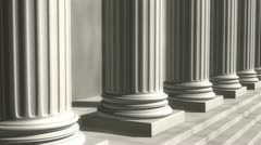 Pillars of the Community - stock footage