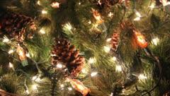 Christmas Cheer Wreath Holiday Fun Stock Footage