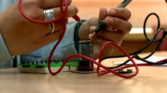 Physics Lesson. - stock footage