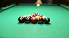 Billiards Stock Footage