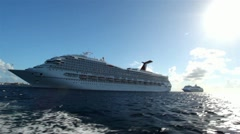 Stock Video Footage of Cruise Ship 19 HD