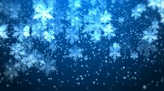 XMAS PARTICLES 017 Stock Footage