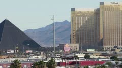 The Luxor and the HOTEL HD Stock Footage