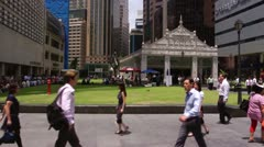 Raffles Place - stock footage