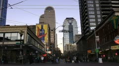 Seattle, Pike Street Stock Footage