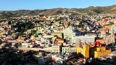 Guanajuato Panorama - stock footage