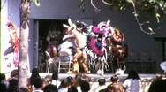 Stock Video Footage of American Indian Pow Wow Dancers Circa 1965 (Vintage Film Home Movie) 1508