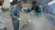 Japan Tsunami Aftermath Survivors  Stock Footage