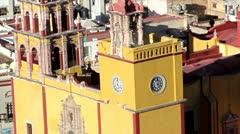 Basilica of Guanajuato - stock footage