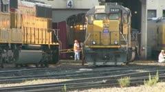 train, locomotive, engine - stock footage