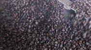Coffee toasted Stock Footage