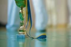 Trophy winner Stock Footage