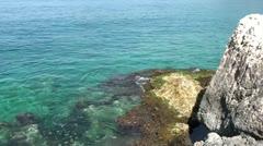 Seascape on Kas Peninsula Stock Footage