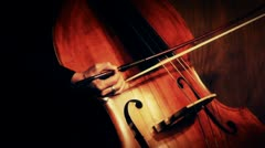 Stock video footage the Playing Cello Stock Footage