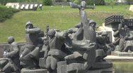 "Stock Video Footage of Statue of Museum of the ""Great Patriotic War"" , Kiev, Ukraine"